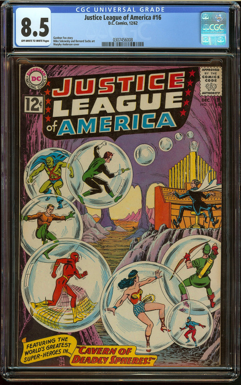 Justice League of America #16 CGC 8.5