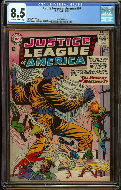 Justice League of America #20 CGC 8.5